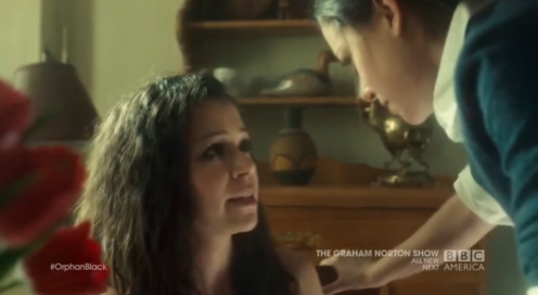 Beth Sets Sarah Straight