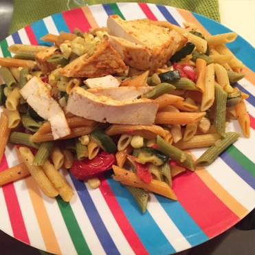 Gianna J's penne with tofu recipe photo