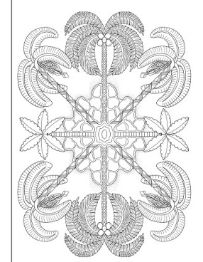 Trees of Life Colouring picture 3